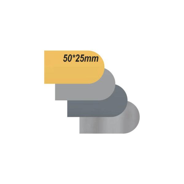 پلاک استیل خام طرح دار کد 2550
