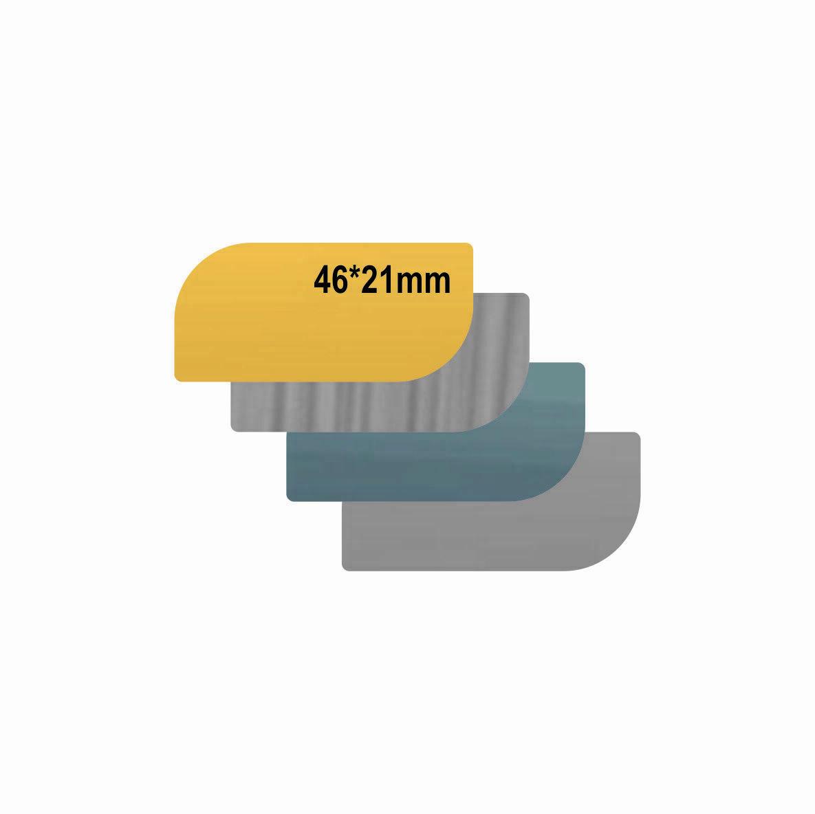 پلاک استیل خام طرح دار کد 4621
