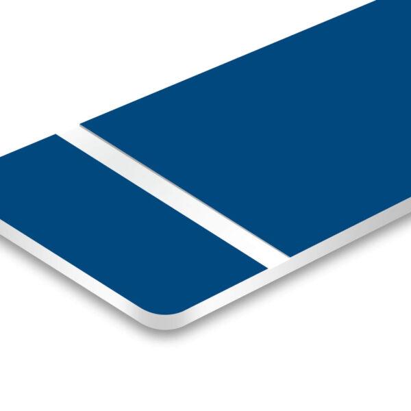 ورق مولتی استایل ضخیم آبی پشت سفید