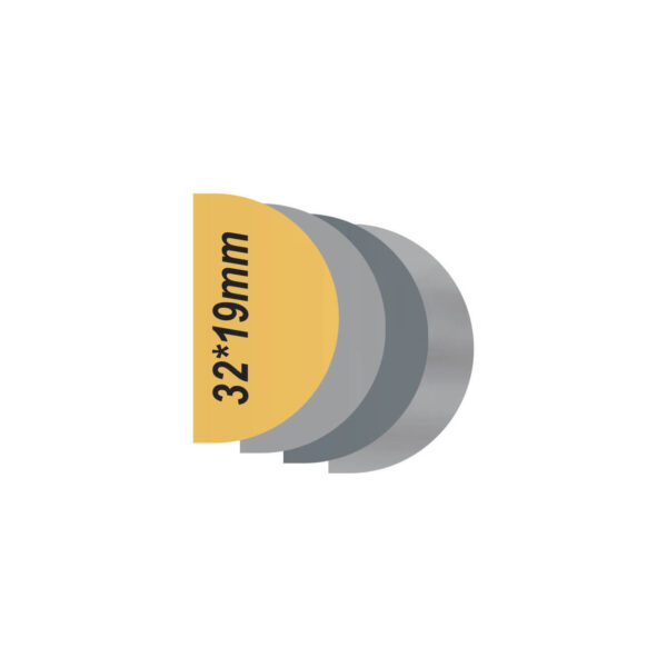 پلاک استیل خام طرح دار کد32193