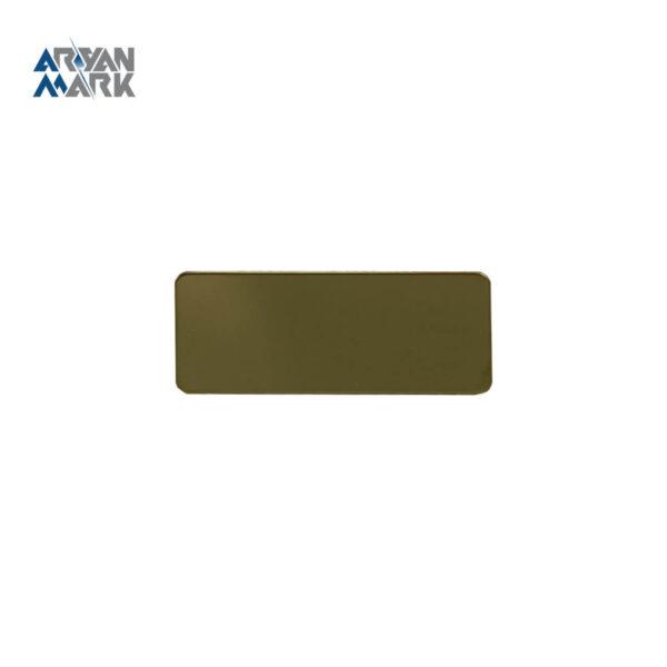 نشان سینه طلایی خام استیل مگنتی