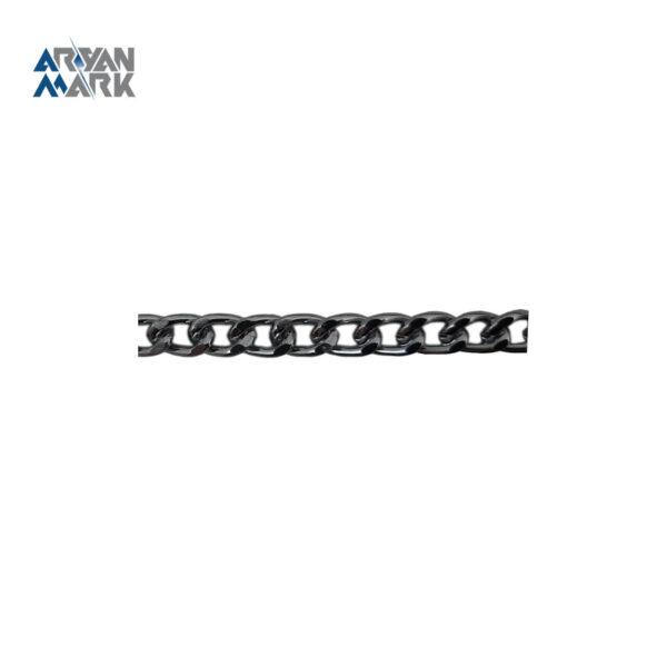 زنجیر آلومنیومی نقره ای کد 007