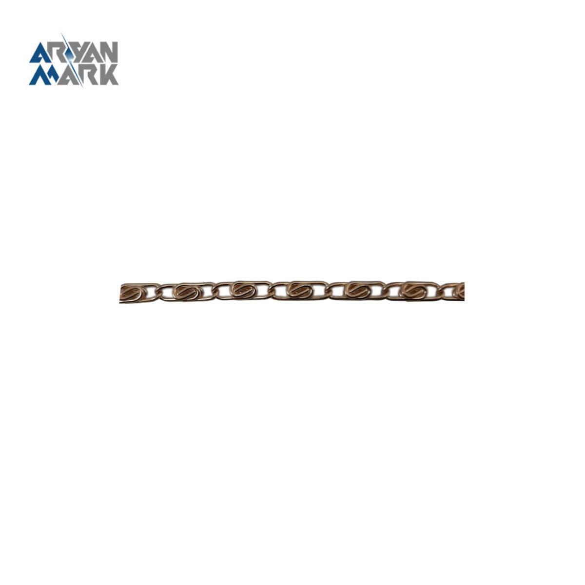 زنجیر آهنی طلایی کد 006