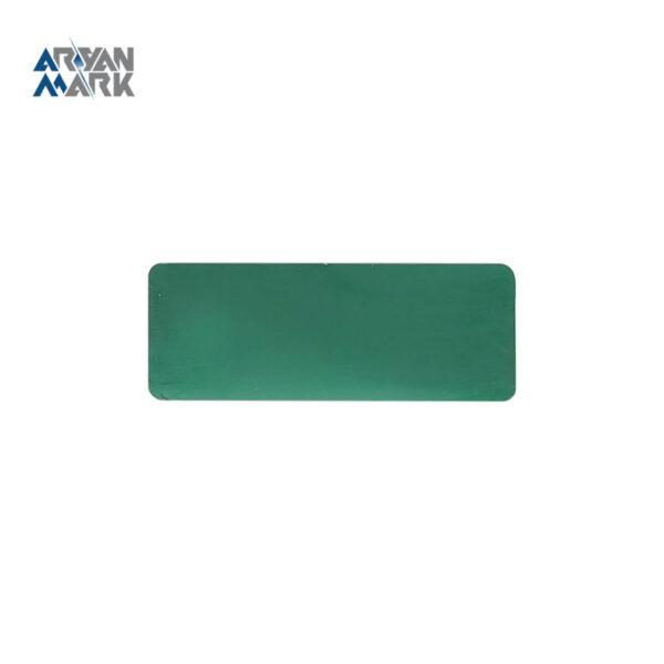 نشان سینه سبز طرح دار خام استیل مگنتی