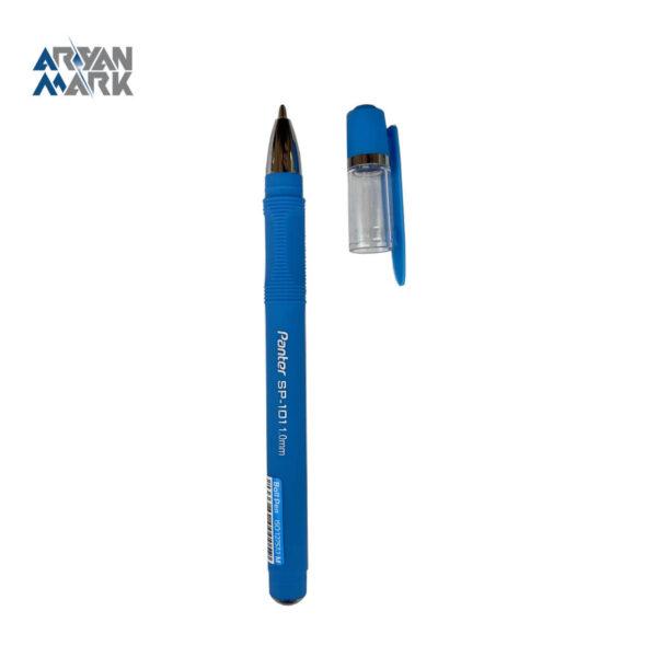 خودکار فوق روان آنتی باکتریال آبی فیروزه ای Panter (تکی)