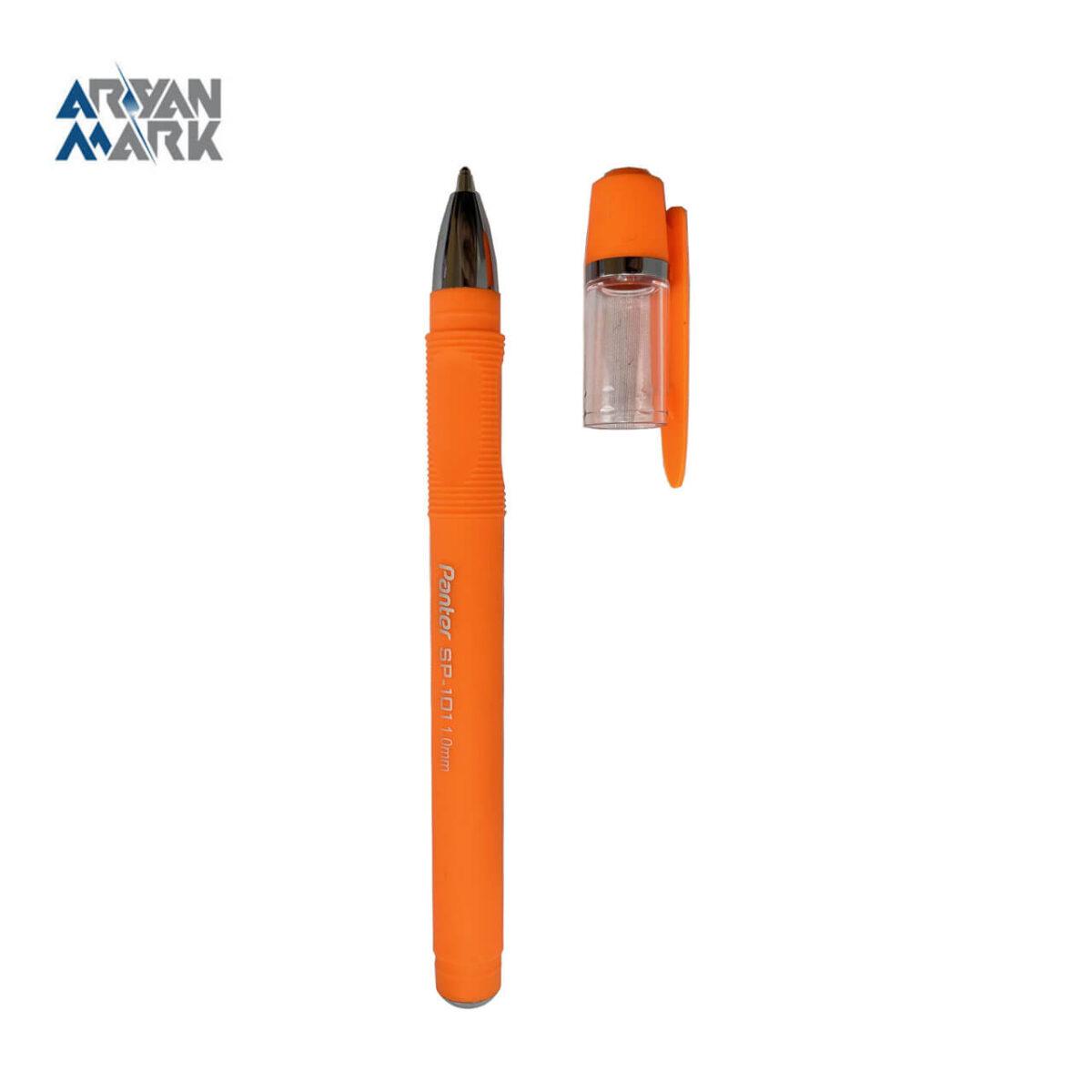 خودکار فوق روان آنتی باکتریال نارنجی Panter (تکی)