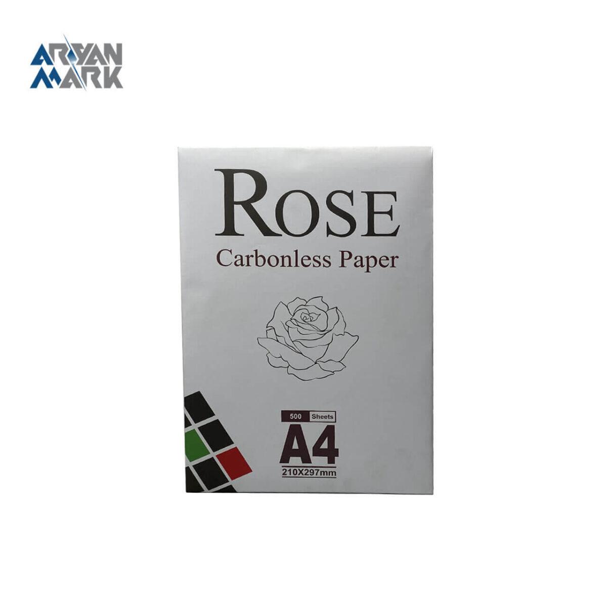 کاغذ A4 رنگ سفید برند Rose
